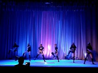 Постановка Большаковой Дианы/ 2-е место/ фестиваль клубного танца/ 2013